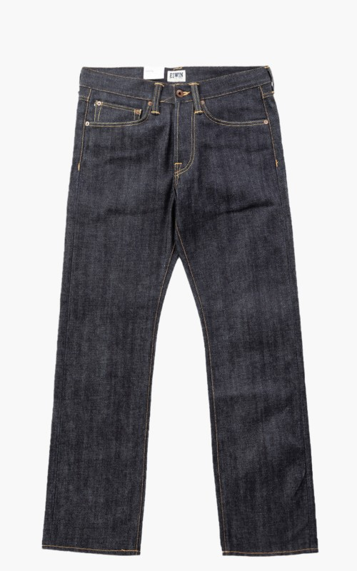 Edwin ED-47 Red Listed Selvage Denim Unwashed 14oz