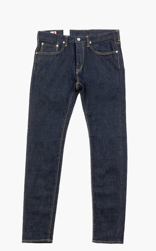 """Edwin Slim Tapered """"Made in Japan"""" Kaihara Stretch Selvedge Rinsed Blue"""