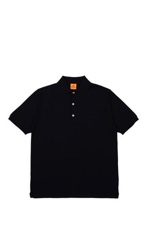 Andersen-Andersen Polo Short Black