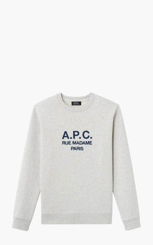 A.P.C. Sweatshirt Rufus Ecru