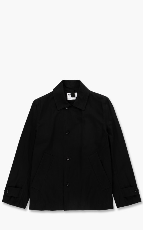 Margaret Howell MHL. Chore Jacket Compact Cotton Drill Black