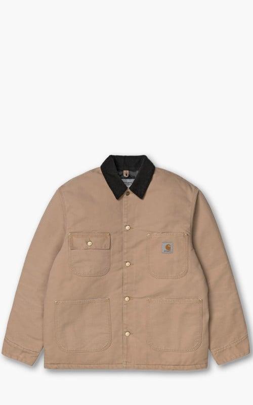 Carhartt WIP OG Chore Coat Dusty Hamilton Brown Aged Canvas