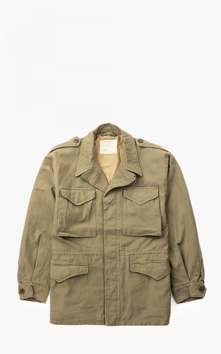 vintage olive drab field jacket