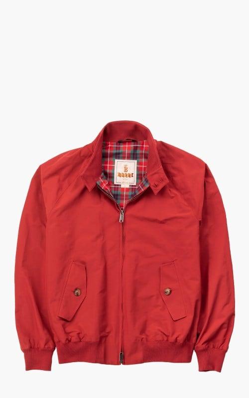 Baracuta G9 Classic Harrington Jacket Dark Red