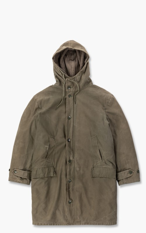 """Military Surplus """"Dead Stock"""" BW Parka Lined Olive"""