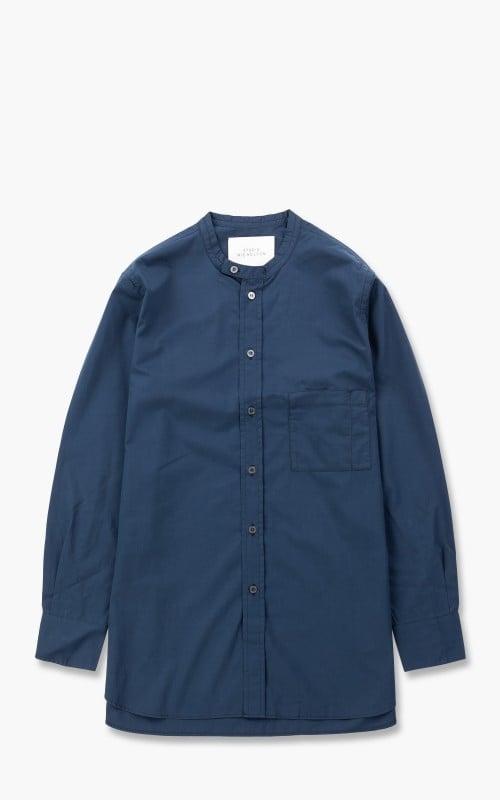 Studio Nicholson SNJP Hakone SN Shirt Supima Cotton Dark Navy