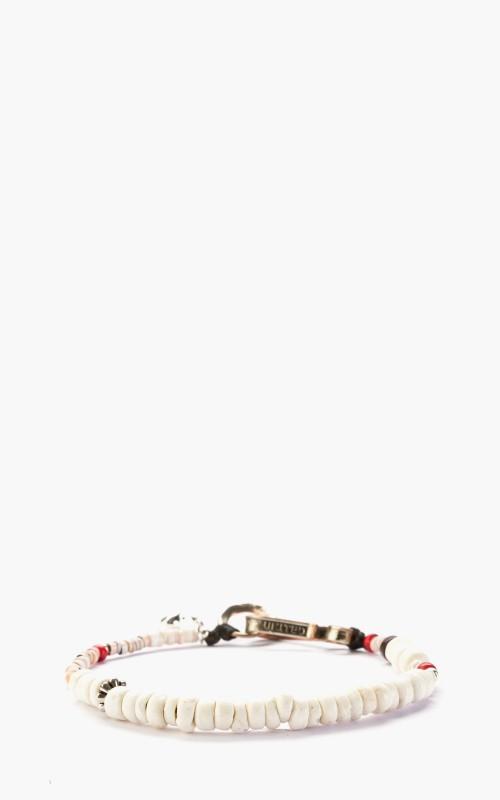 North Works D-613C Shell Bracelet White