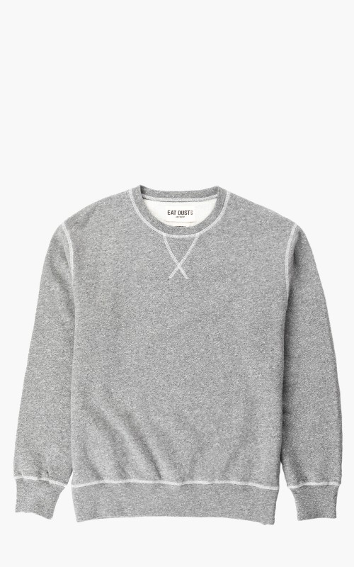 Eat Dust Skull Sweatshirt Greymelange