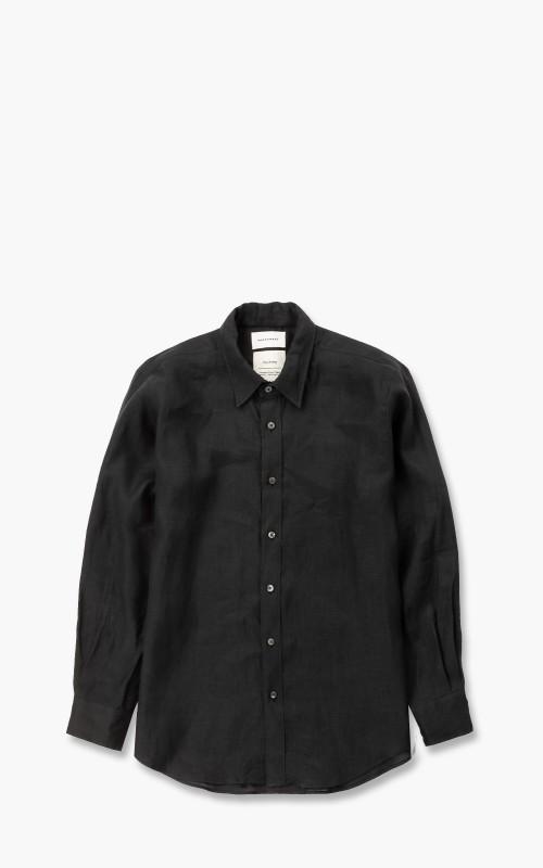 Markaware Hemp W Collar Shirt Black