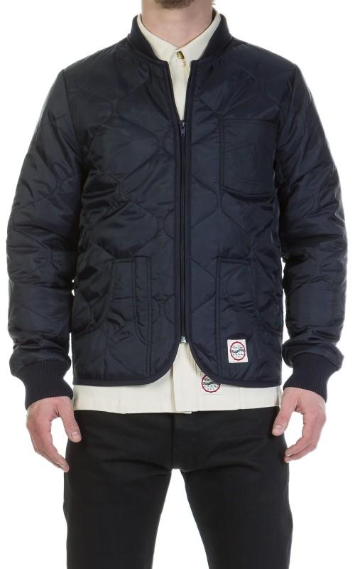 Eat Dust Frostbite Nylon Jacket Navy