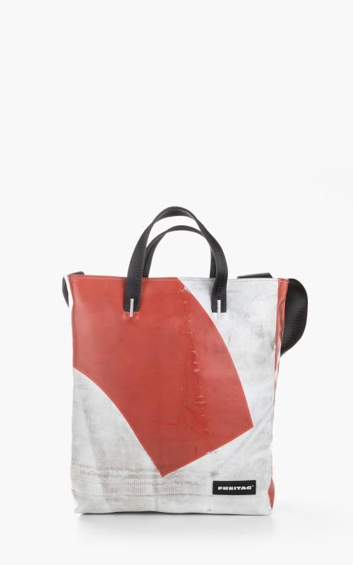 Freitag F203 Bob Tote Bag Red 6-1