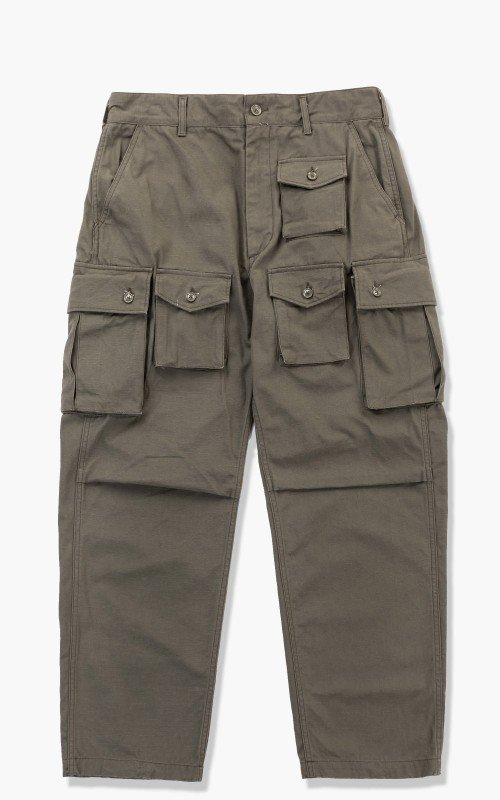 Engineered Garments FA Pant Cotton Ripstop Olive