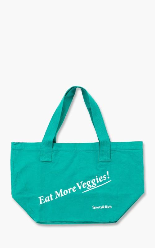 Sporty & Rich Eat Veggies Tote Bag Tropical