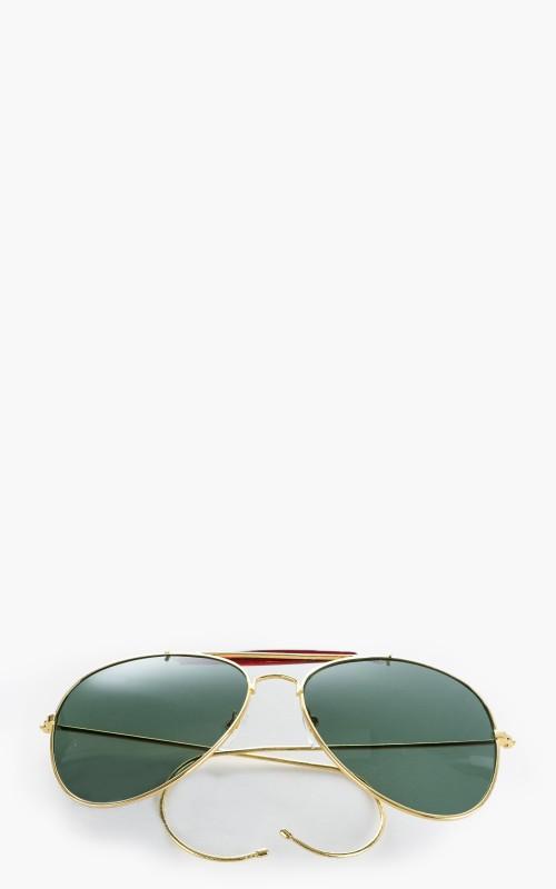Military Surplus Air Force Sunglasses Green