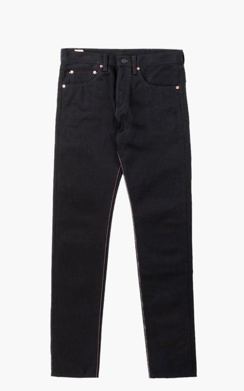 Momotaro Jeans B0306-SP Zimbabwe Cotton Black x Black GTB 15.7oz