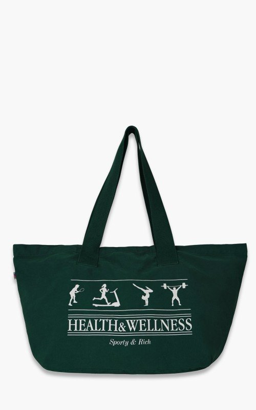 Sporty & Rich Health & Wellness Tote Bag Forest