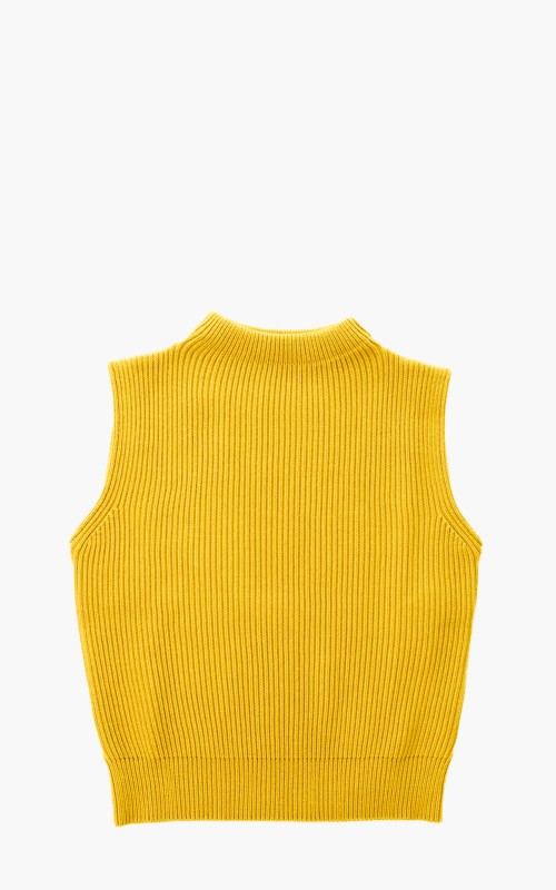 Andersen-Andersen Navy Vest Yellow