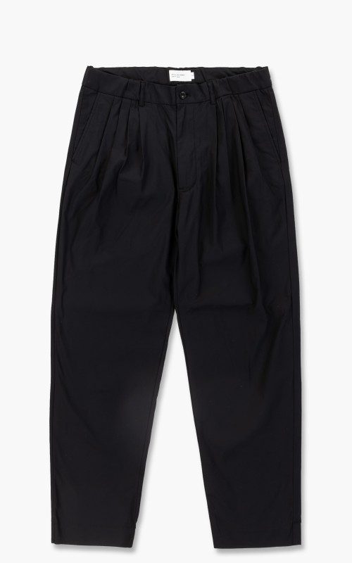 Still By Hand Tapered Pants Ink Black