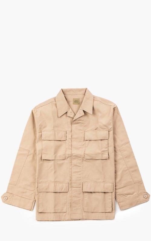 Military Surplus US BDU Jacket Khaki