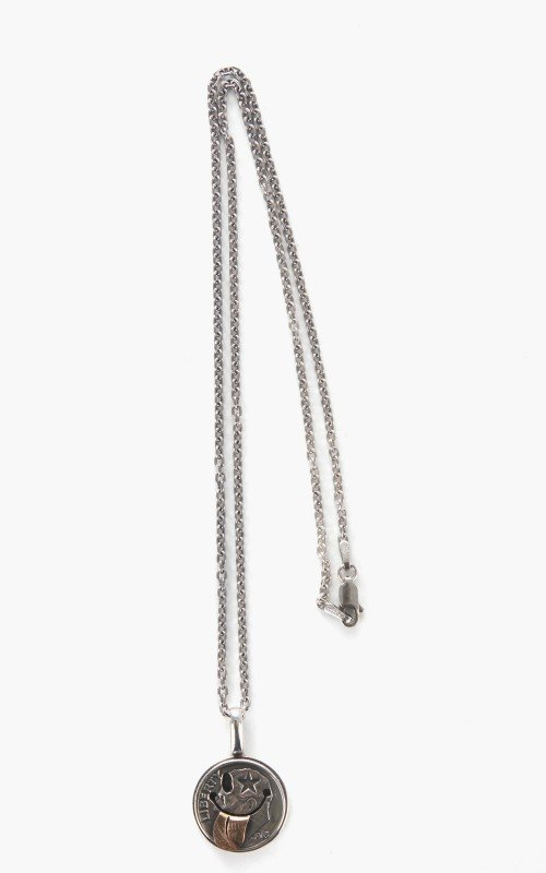 North Works N-624 Smile Coin Necklace 925 Silver