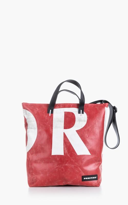 Freitag F203 Bob Tote Bag Red 5-1