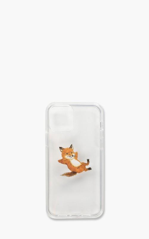 Maison Kitsuné iPhone 12/iPhone 12 Pro Case Chillax Fox Transparent