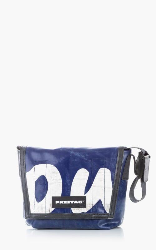 Freitag F11 Lassie Messenger Bag Classic S Blue 6-7