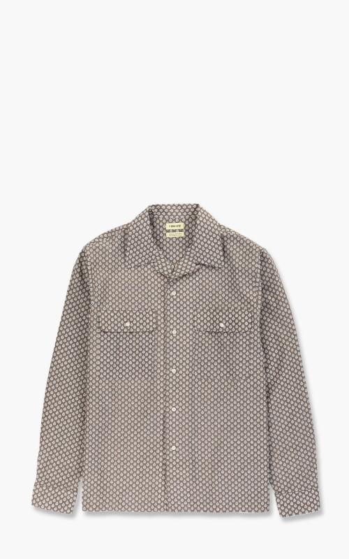 De Bonne Facture Oversized Shirt Taupe