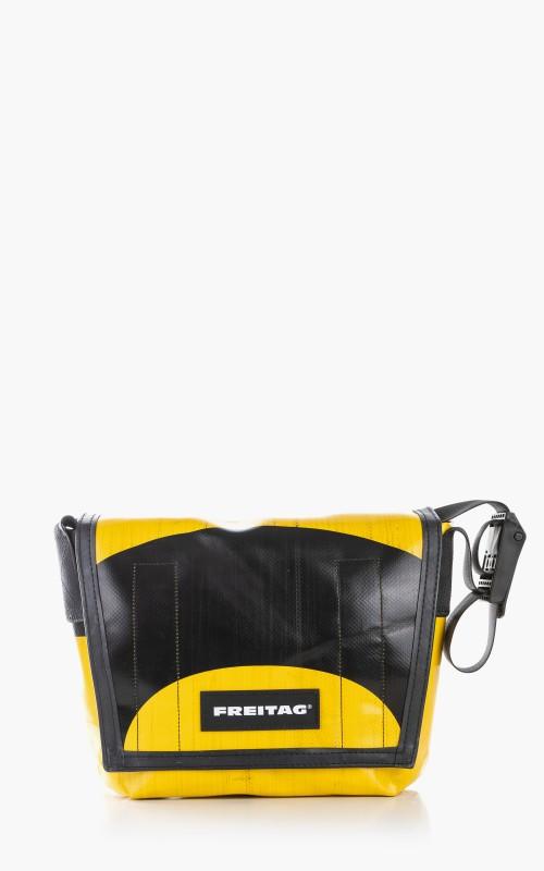 Freitag F11 Lassie Messenger Bag Classic S Yellow 6-4