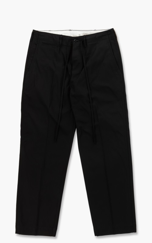 Markaware Organic Cotton Dry Twill 41 Khaki Straight Black