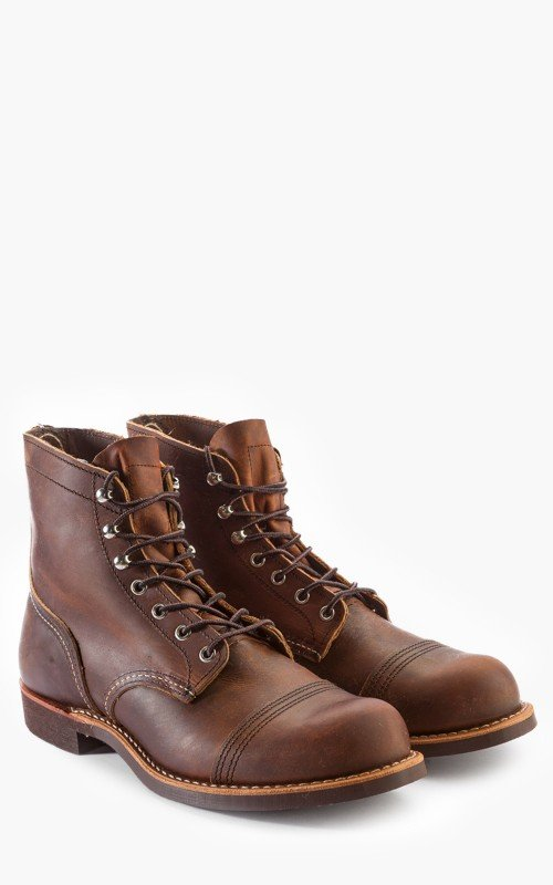 Red Wing Shoes 8085D Iron Ranger Copper Rough & Tough
