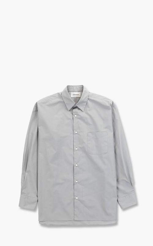 Markaware Comfort Fit Shirt Organic Cotton Shirting Soktas Grey