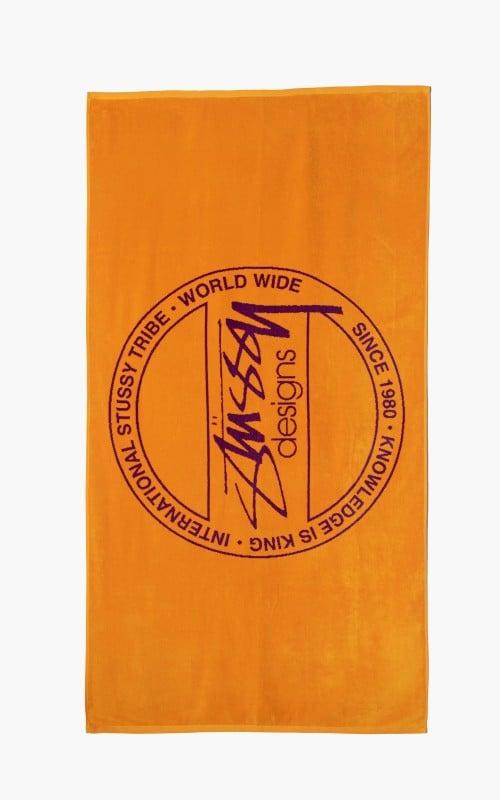 Stüssy Dot Jacquard Towel Orange/Purple