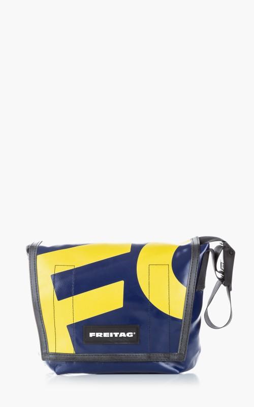Freitag F11 Lassie Messenger Bag Classic S Blue 6-2