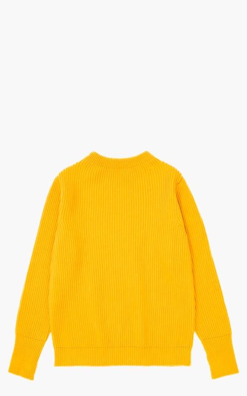 Andersen-Andersen Navy Crewneck Yellow