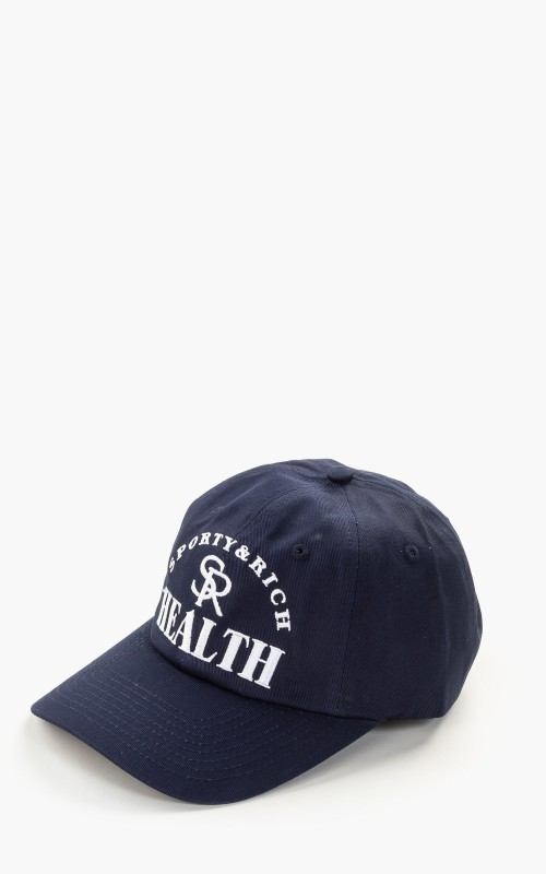 Sporty & Rich Ball Game Hat Navy