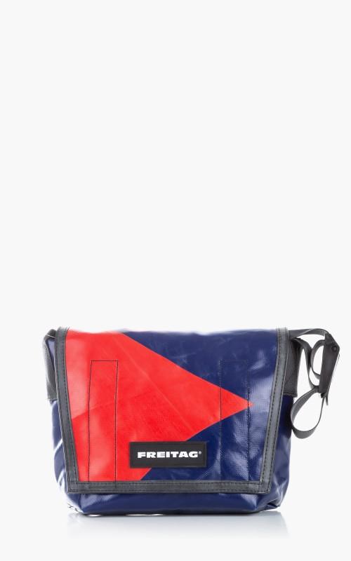 Freitag F11 Lassie Messenger Bag Classic S Blue 6-5