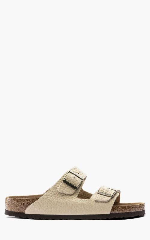 Birkenstock Arizona Nubuck Leather Soft Footbed Desert Buck Almond
