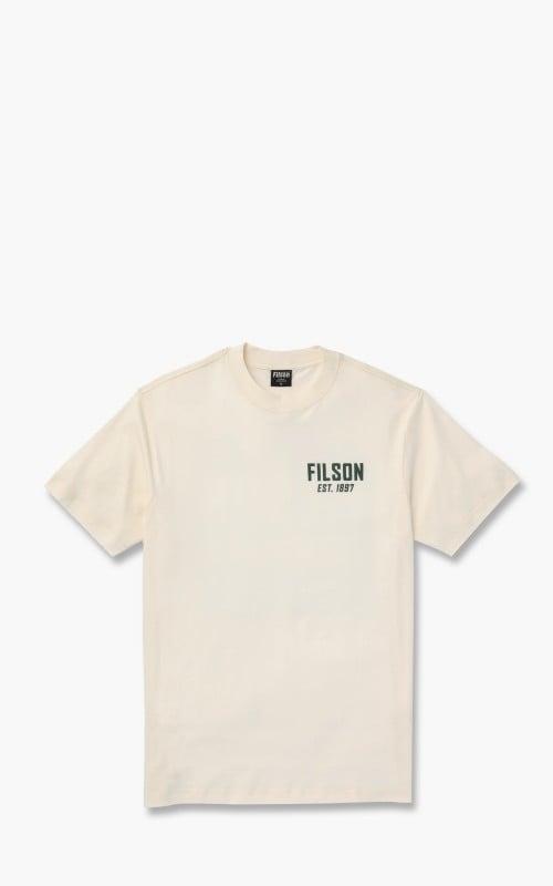 Filson Ranger Graphic T-Shirt Off White Road