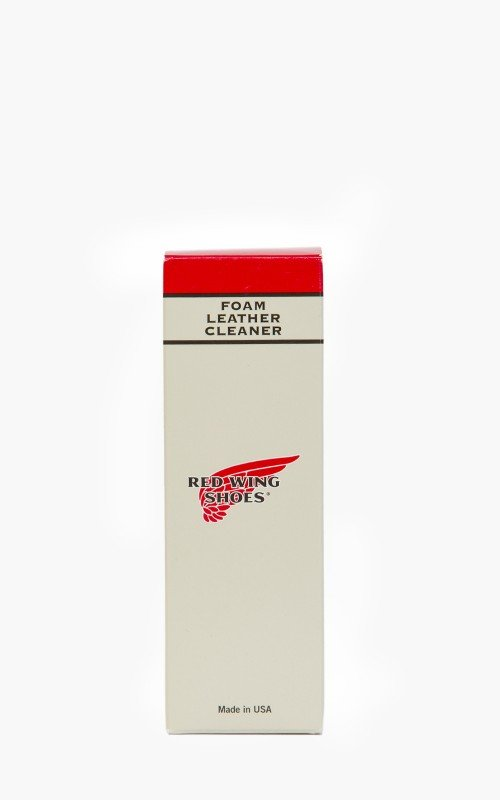 Red Wing Shoes Foam Leather Cleaner