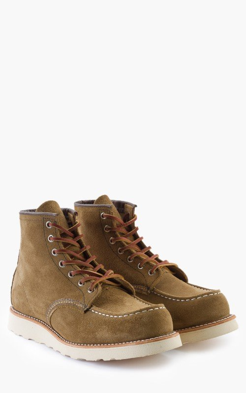 Red Wing Shoes 8881D Moc Toe Olive Mohave