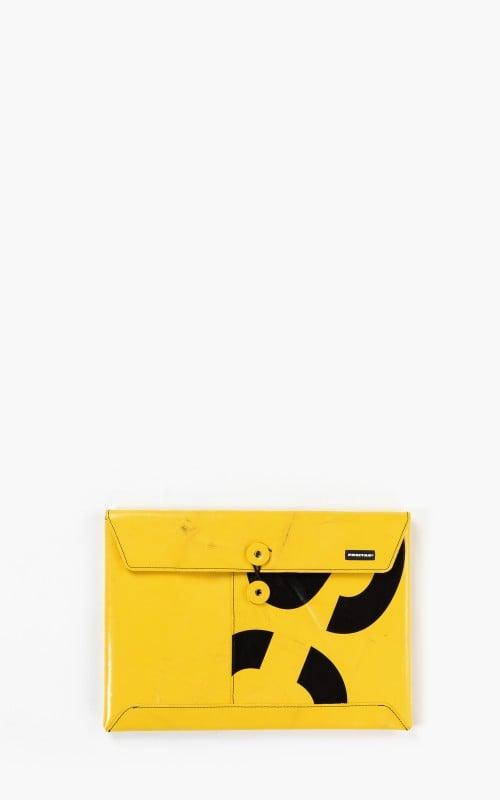 "Freitag F411 Sleeve Padded Laptop Envelope 13"" Yellow 6-3"