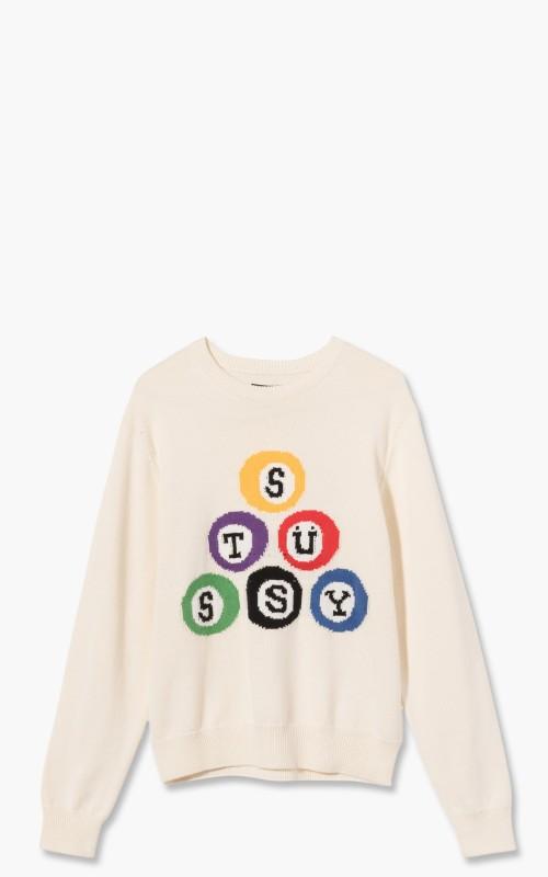 Stüssy Stussy Billard Sweater Natural