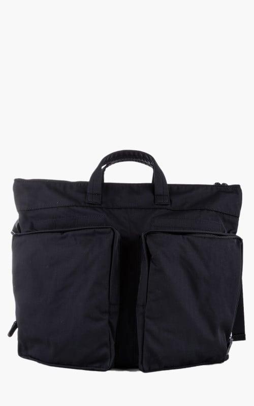 Amiacalva Gabardine Helmet Bag Black