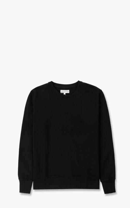 Merz b. Schwanen CSW04 Good Sweatshirt Embroidery Logo Black