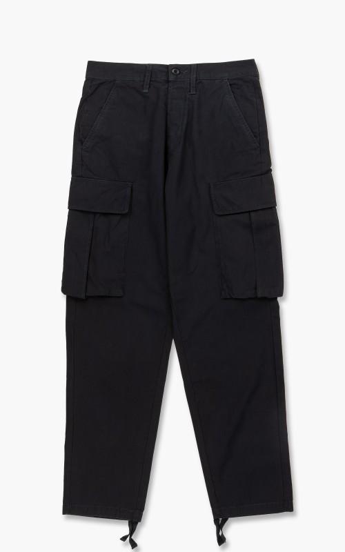 Edwin Jungle Rip Stop Pant Black Garment Wash