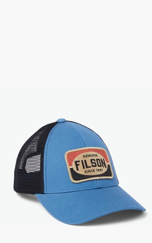 Filson Mesh Logger Cap Blue