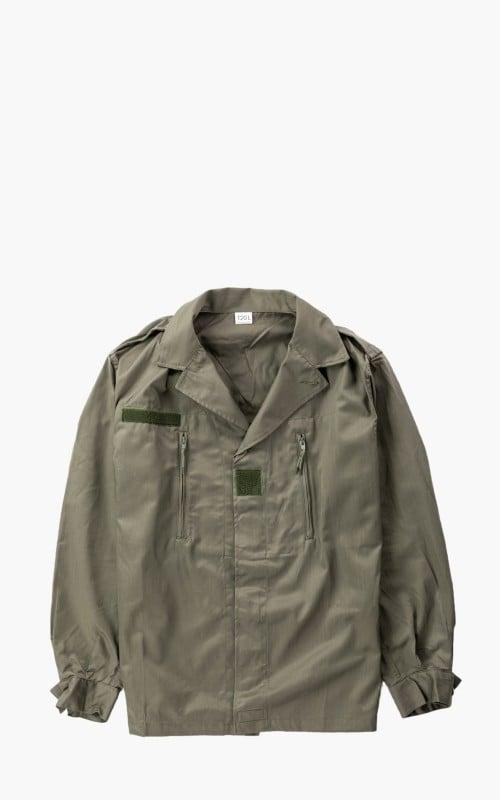 Military Surplus French Field Jacket F2 W/O Pocket Olive