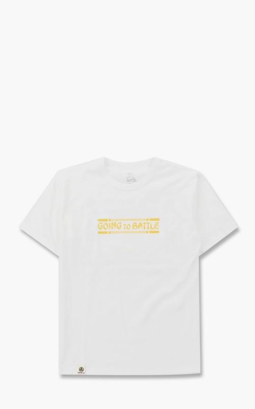 Momotaro Jeans 07-106 GTB Kung Fu T-Shirt White