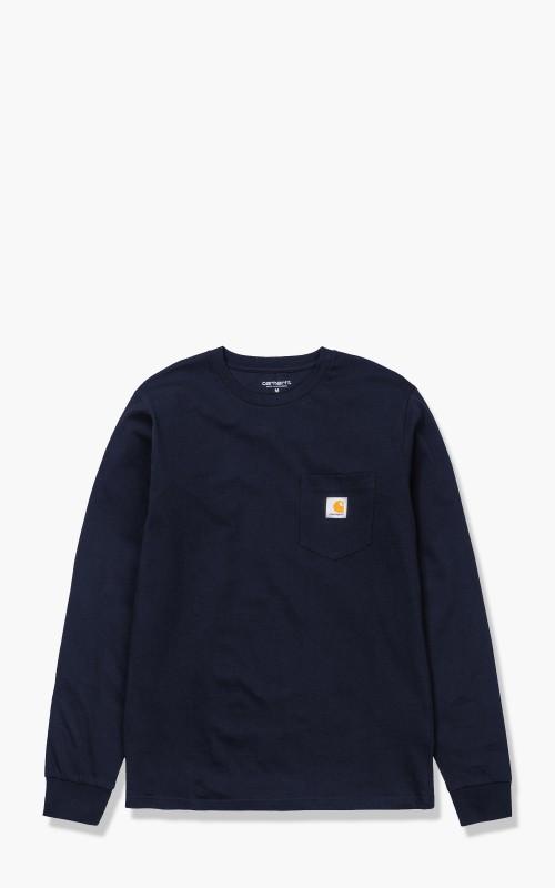 Carhartt WIP L/S Pocket T-Shirt Dark Navy